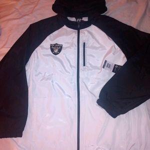 Las Vegas Raiders Windbreaker Hoodie Jacket